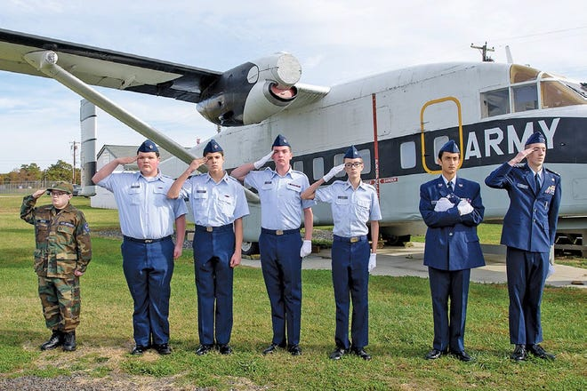 Members of the Cumberland County Civil Air Patrol participated in the Millville Army Air Field Museum's Veterans Appreciation Day 2017. This year's event will be held from 10 a.m. to 2 p.m.  Nov. 3.