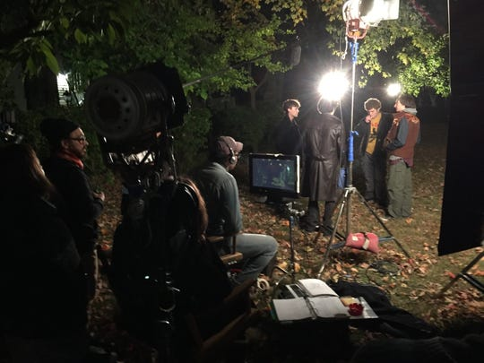 """Behind the scenes of """"No Alternative"""", a film by Yonkers native William Dickerson."""