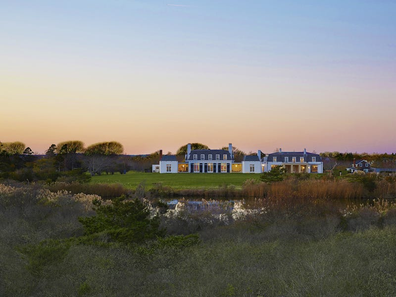 An estate built for Henry Ford II in 1960 has recently come on the market at $175 million. Located on Jule Pond in Southampton, it has the largest ocean frontage in the celebrity-infused Hamptons.