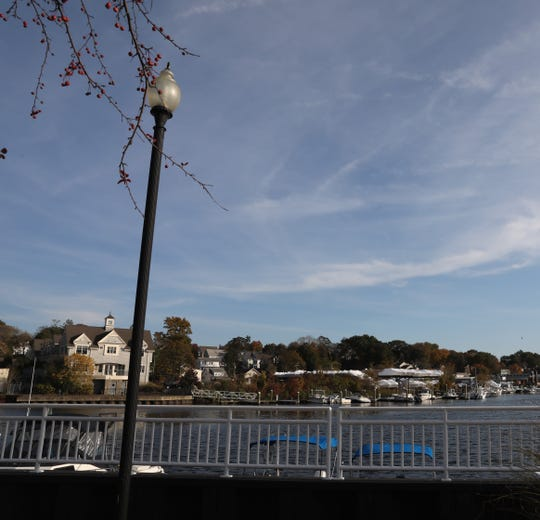 A view of the waterfront in Port Chester on Oct. 31, 2018.