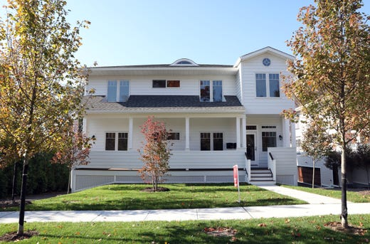 One of the homes with two units at Maple Avenue Residences in New Rochelle Oct. 31, 2018. Maple Avenue Residences is a six-unit condominium complex that offers the amenities of single-family living.
