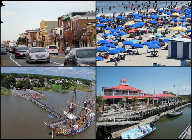 What Delaware locale has been named among the 50 most beautiful small towns in the U.S.?