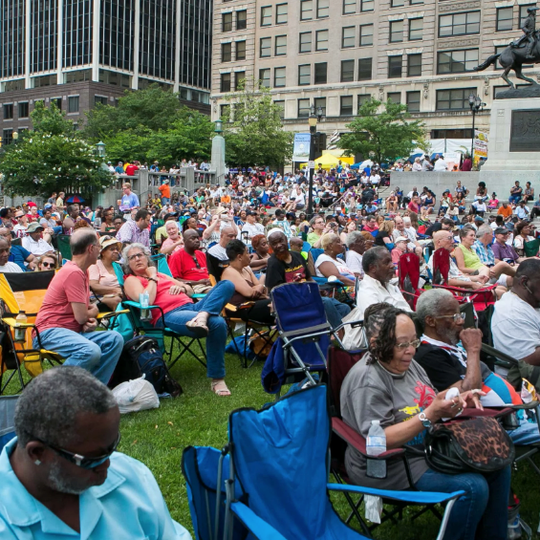 The city's annual Clifford Brown Jazz Festival brings thousands of people downtown to listen to free music.