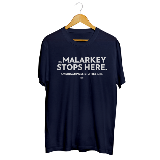 "Joe Biden's Super PAC store sells a handful of items, including a ""The Malarkey Stops Here"" t-shirt."