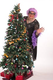 "Dame Edna, aka Scott Mason, will appear at both Chapel Street Players ""One Dame Frolicking"" Dec. 6 - 9 and at the Milton Theatre in the holiday extravaganza ""Christmahanukwanzaka"" Dec. 21."