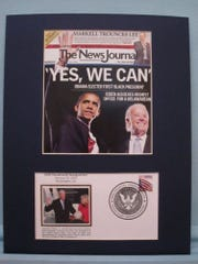 The News Journal's front page from Nov. 5, 2008 commemorating his elevation to vice president.