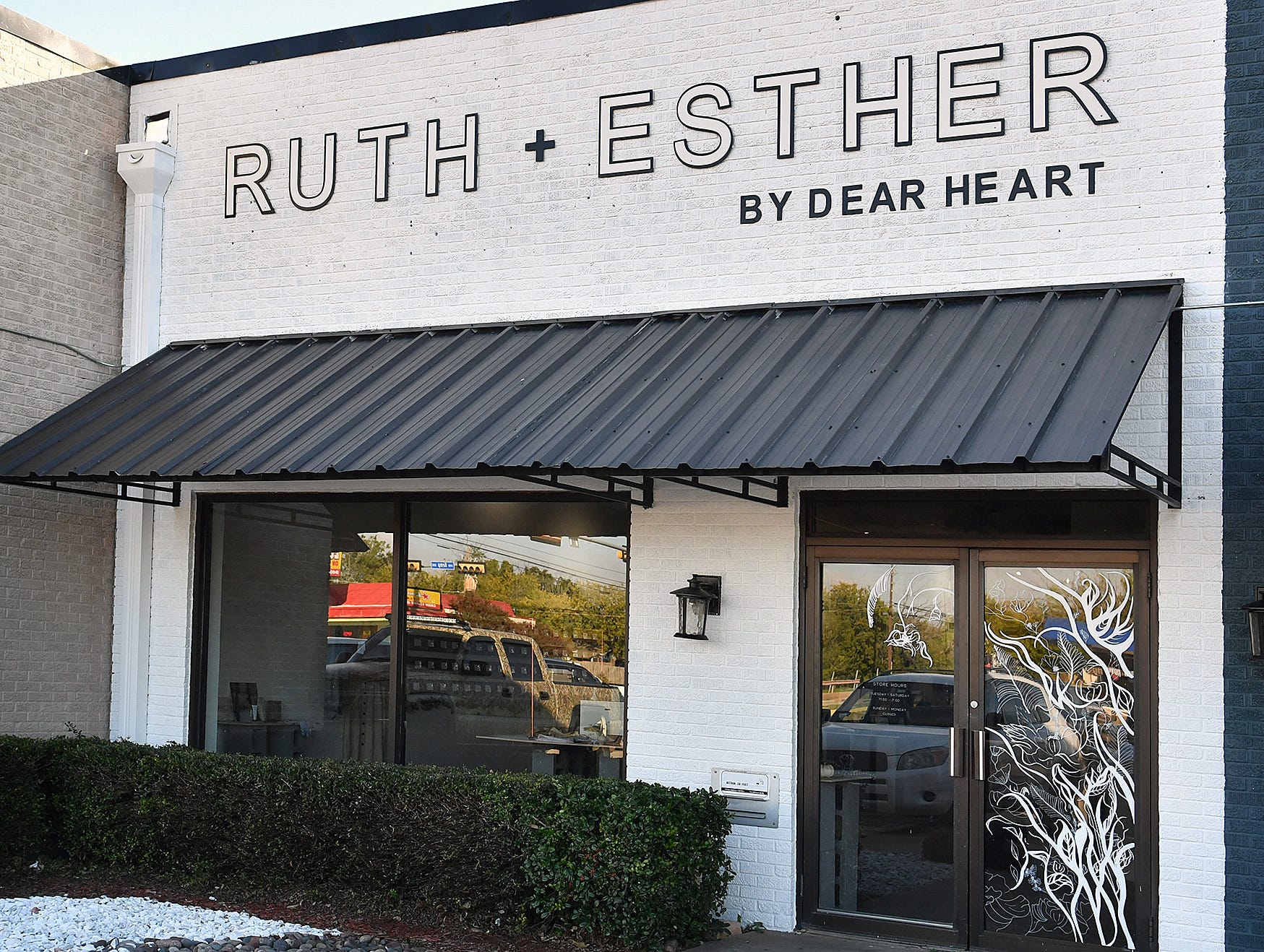 Ruth & Esther is a new lifestyle boutique owned by Nichole Kirk, creator of Dear Heart, and is located on Kemp Boulevard.