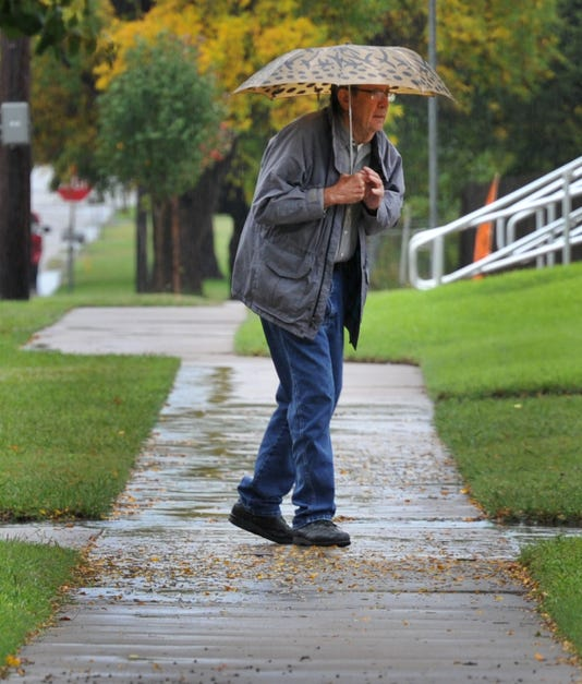 Wichita Falls Sees A Rainy Halloween
