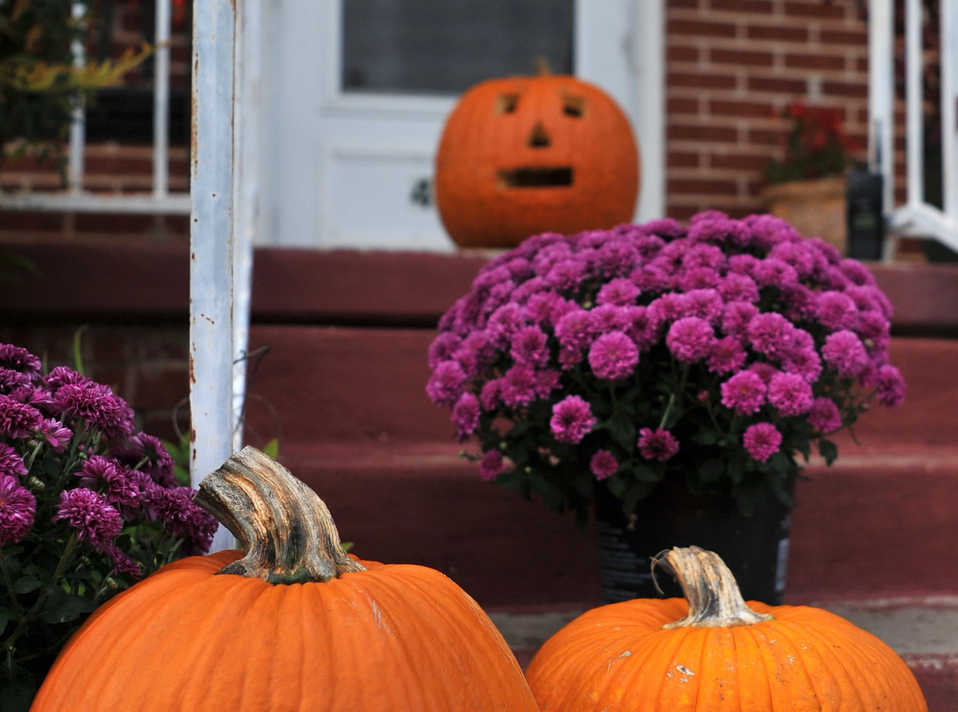 Residents around Wichita Falls decorated their homes with some spooky and cute decorations for Halloween and fall.