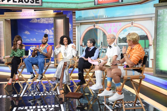 """""""GMA"""" provided a good morning for lovers of morning-show Halloween hijinks."""
