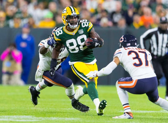 Ty Montgomery was released by the Packers two weeks ago, but he does own the biggest individual rushing game by a Packers player in the Aaron Rodgers era.