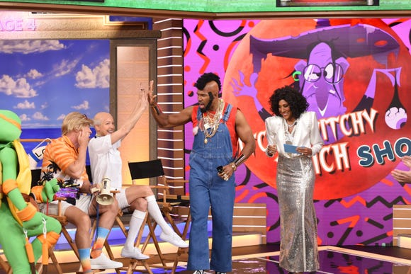 He pity the fool who don't appreciate good '80s TV: Michael Strahan as Mr. T.