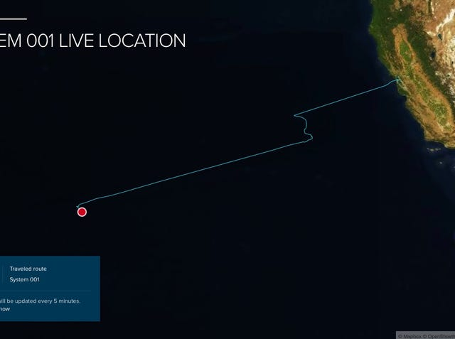 Great Pacific Garbage Patch: Ocean Cleanup targets plastic pollution