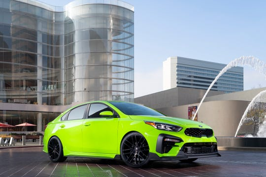 Kia shows off a custom Forte at the SEMA show