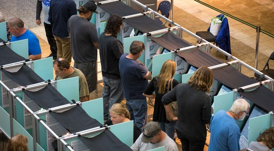 Ap Nevada Early Voting A Usa Nv