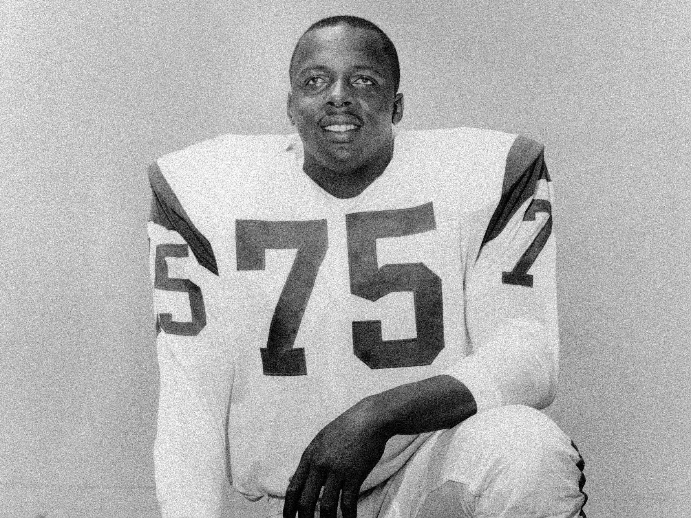 "David ""Deacon"" Jones - He really said this: ""Sacking a quarterback is just like you devastate a city or you cream a multitude of people. I mean it's just like you put all the offensive players in one bag and I just take a baseball bat and beat on the bag."""