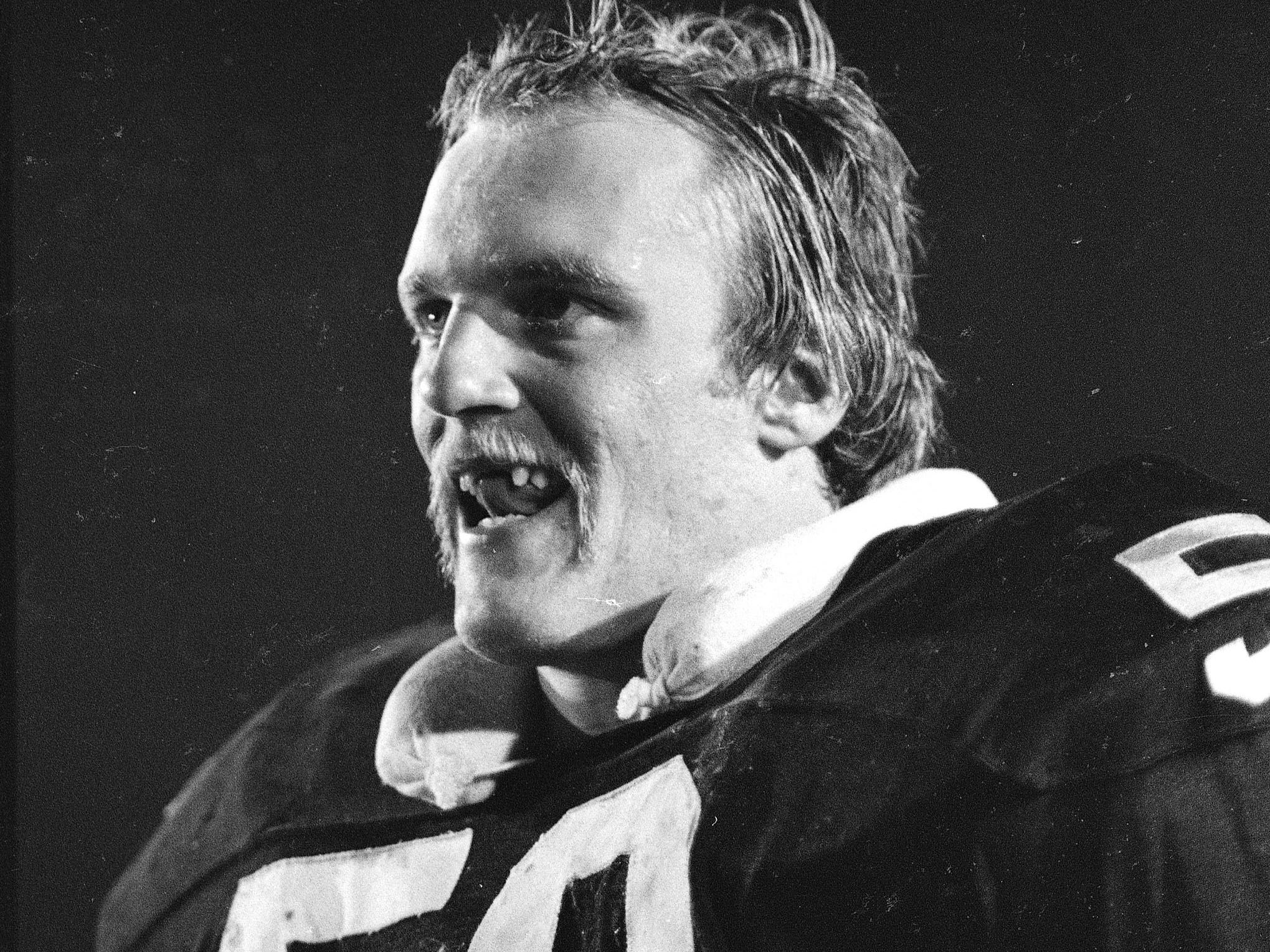Jack Lambert - Missing front teeth only added to the intimidating presence that the Steelers linebacker had on the football field.
