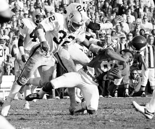 """Jack Tatum - """"The Assassin"""" delivered one of the most devastating hits in Super Bowl history."""