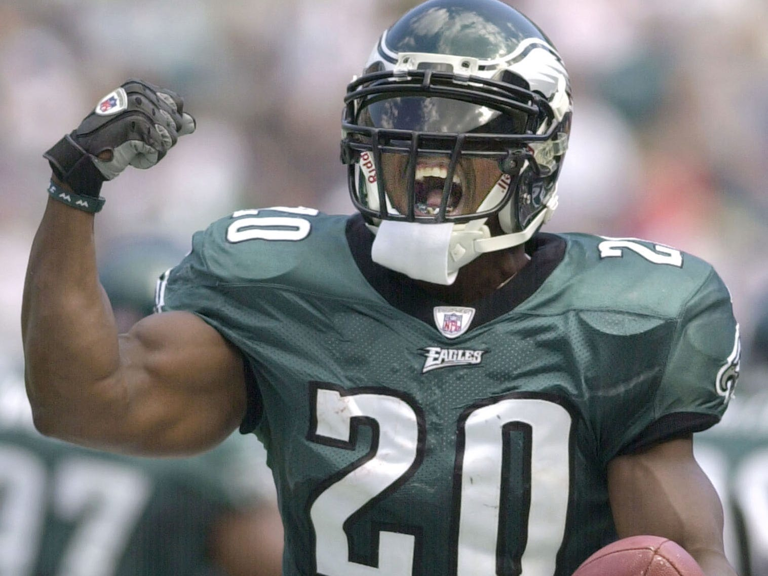 "Brian Dawkins - Nicknamed ""Weapon X,"" Dawkins was a 2018 Pro Football Hall of Fame inductee."