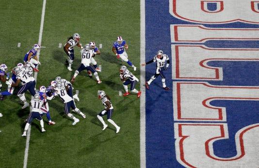 Usp Nfl New England Patriots At Buffalo Bills S Fbn Buf Nep Usa Ny