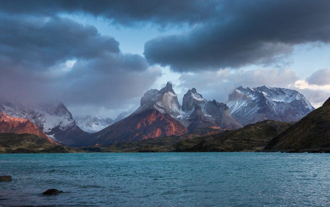 A stunning view of unspoiled Torres Del Paine, Chile. The world's last wilderness areas are rapidly disappearing, according to a new report.