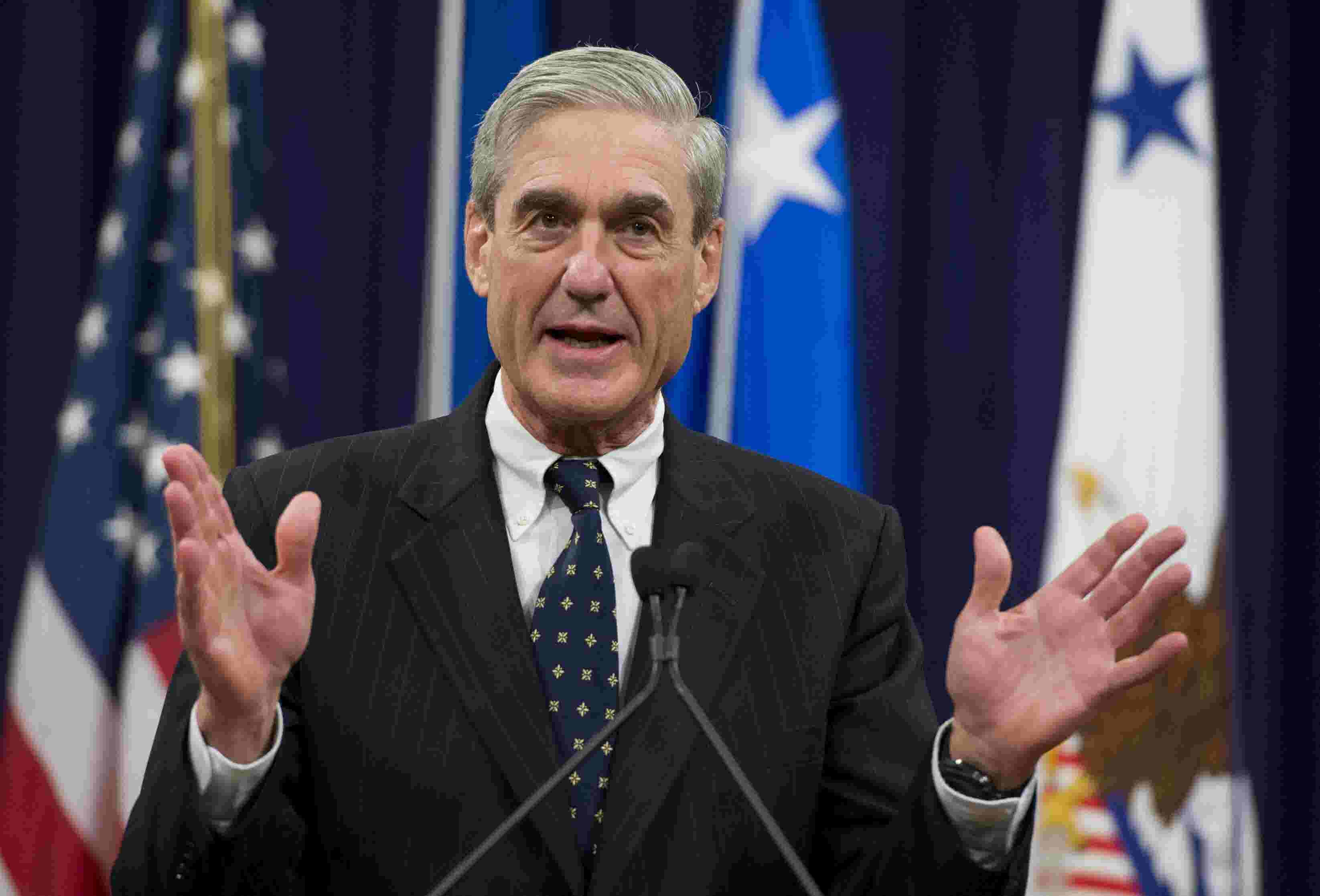 "Image result for Robert Mueller will be leaving the Department of Justice in ""coming days"""