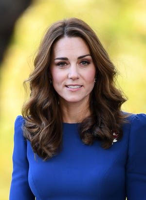Duchess Kate visits the Imperial War Museum in London on Oct. 31, 2018.