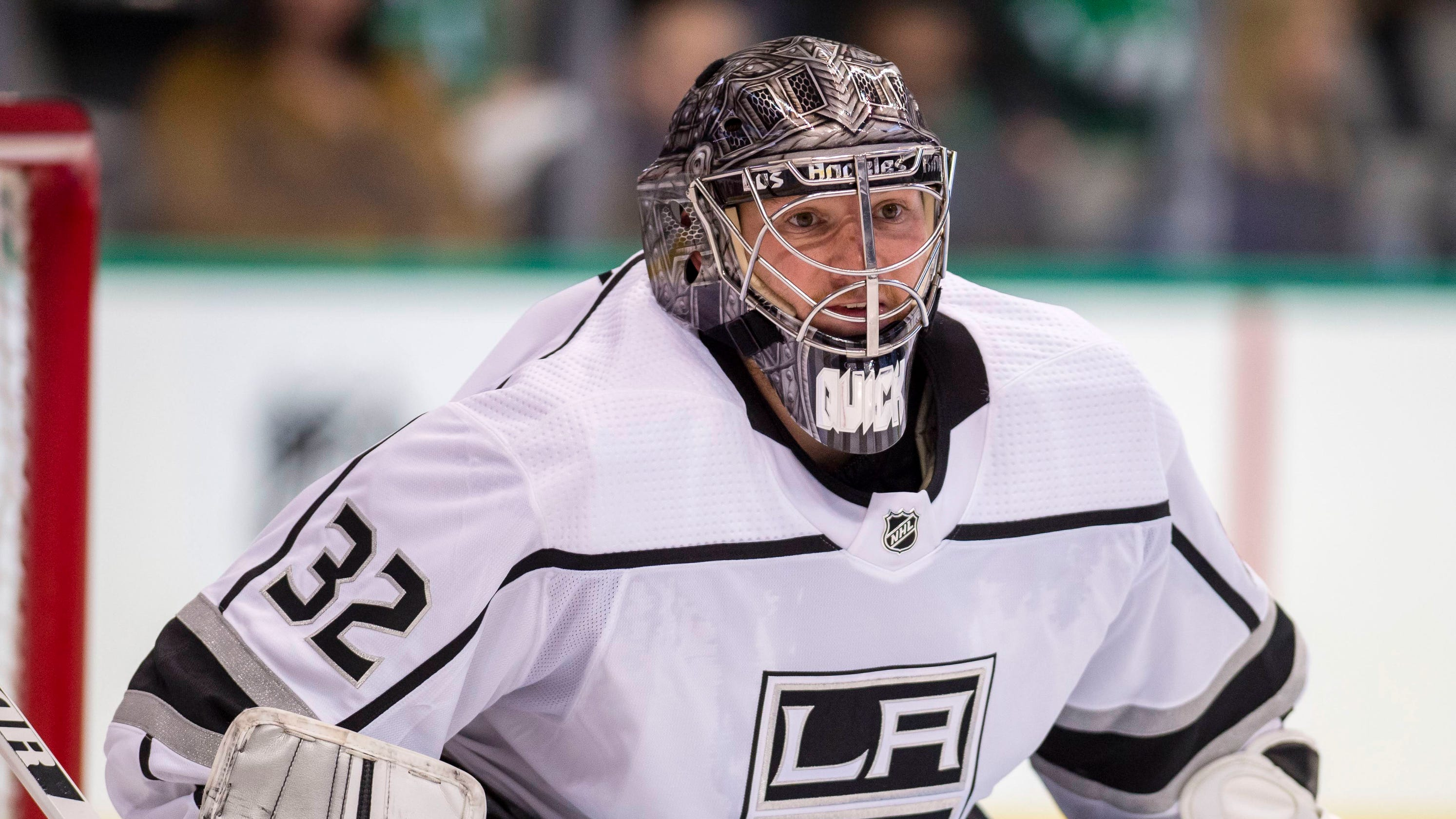 3ba3b428cc7 Kings goalie Jonathan Quick out indefinitely after knee surgery