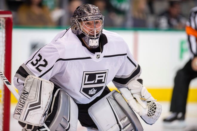 Los Angeles Kings goaltender Jonathan Quick has been limited to four games this season by injuries.