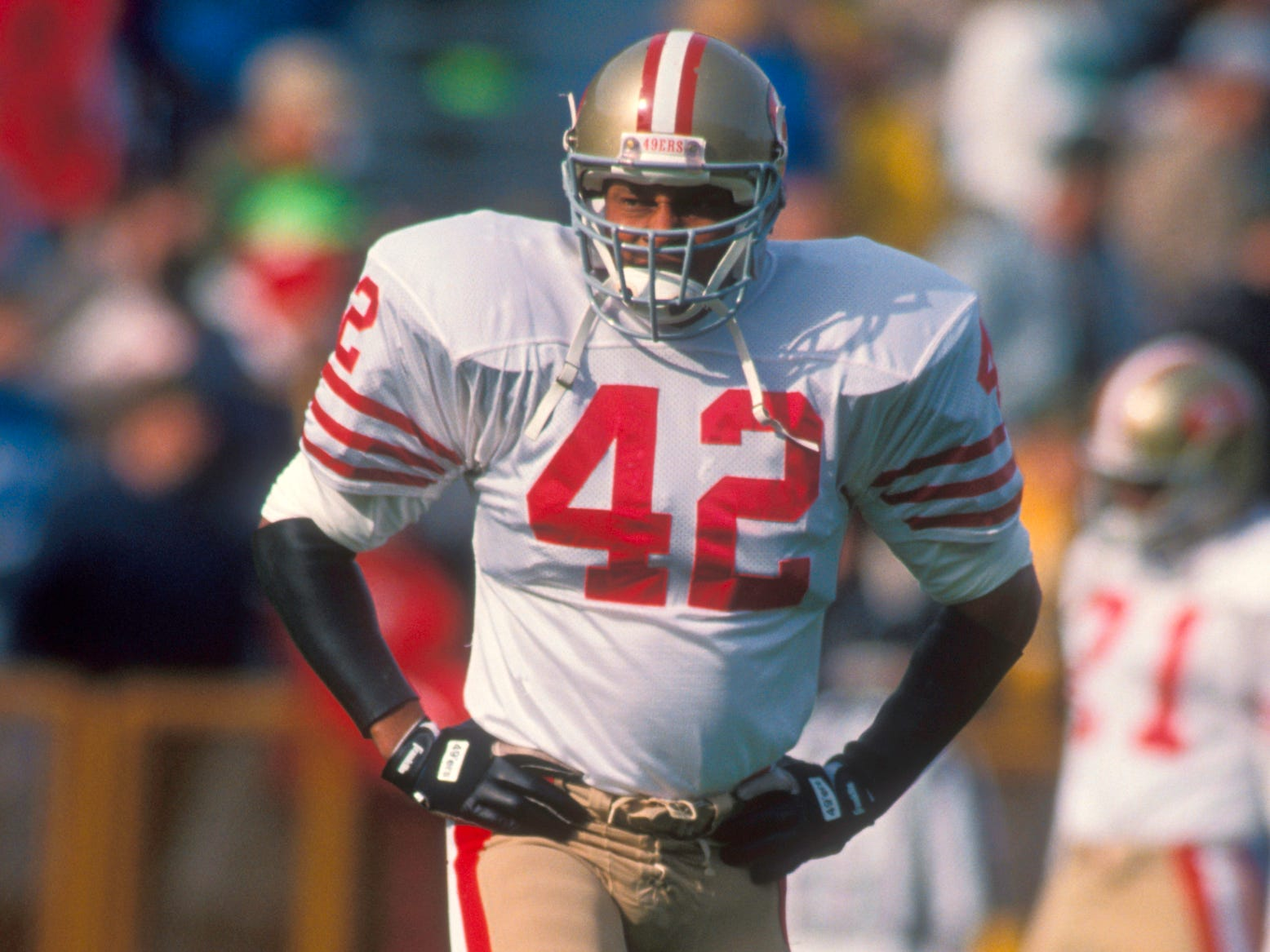 Ronnie Lott - Had a finger amputated so he wouldn't miss playing time.