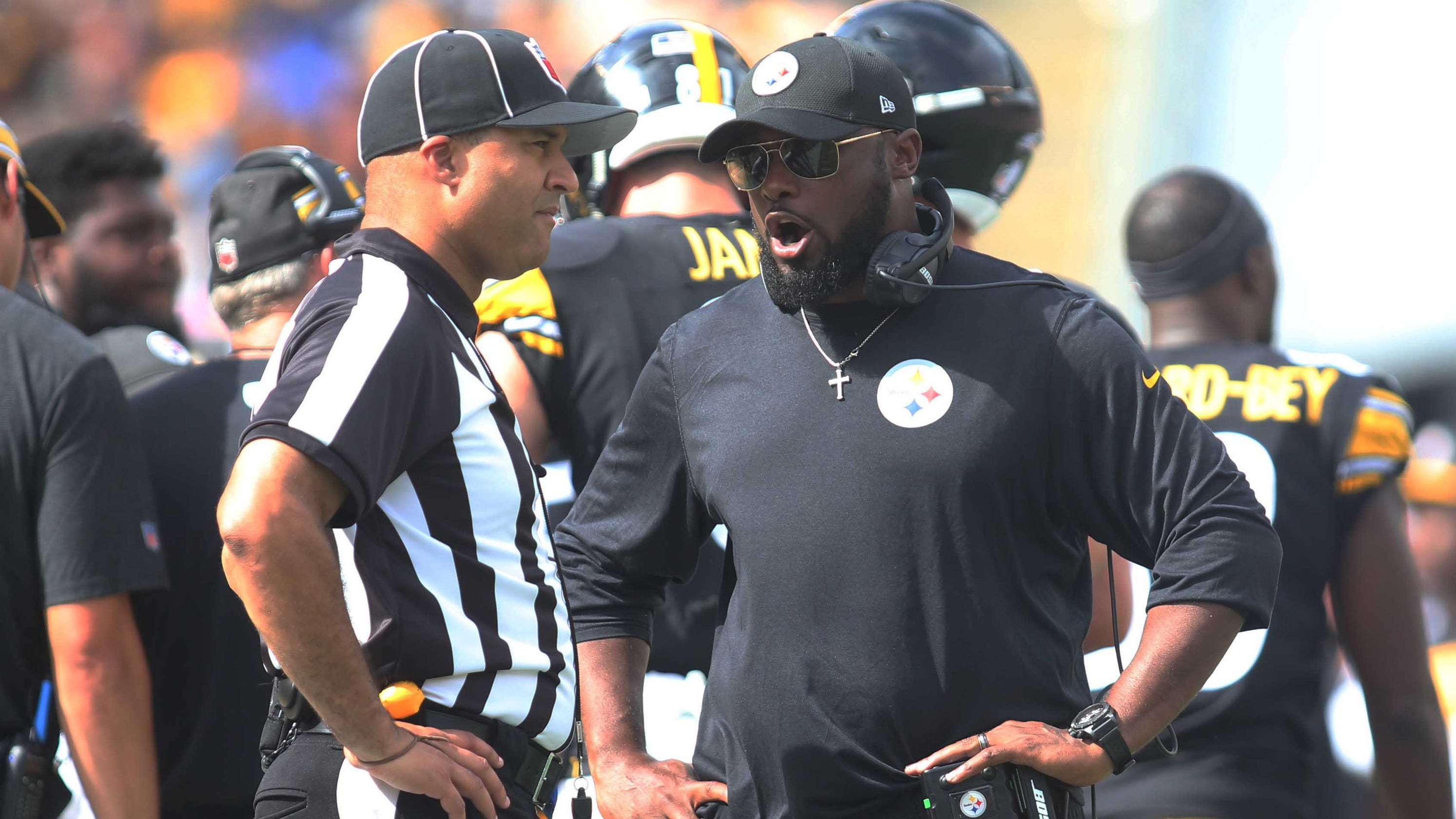 NFL's officiating problems have quieted down, but some issues remain
