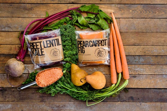 Little Food Co. uses natural, organic ingredients in its baby foods.
