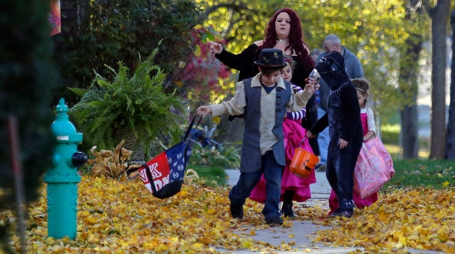 Appleton is promoting precautions to trick-or-treating. Participants are asked to wear face masks, social distance and use hand sanitizer frequently.