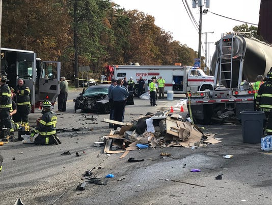 Jackson crash: 4 hurt when truck slams into Glory's Market