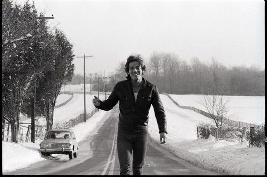 Bruce Springsteen in Holmdel by David Gahr
