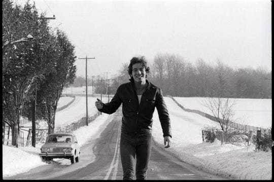Bruce Springsteen in Holmdel by David Gahr