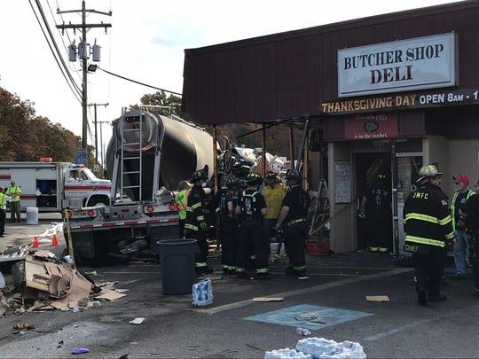 Crash near Jackson Market