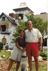 Karen and Pete Nagle moved from Charlotte to transform the home into a bed and breakfast in the late 1990s.