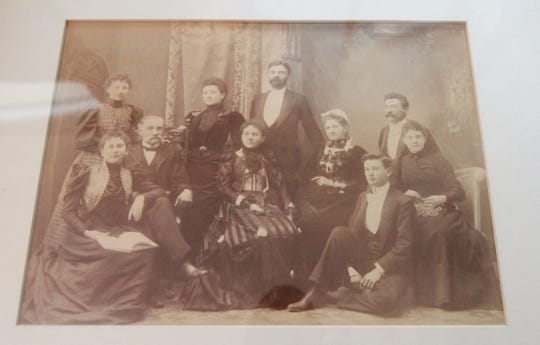 the family of Carrie and Colonel James Henry Rumbough were the home's original owners.