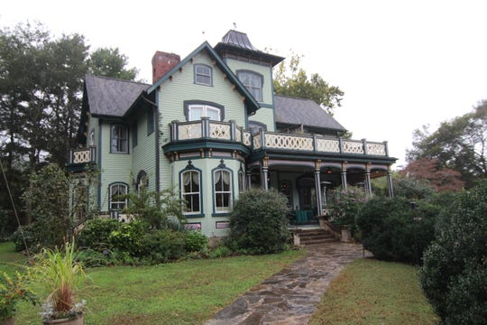 The Mountain Magnolia Inn hosts guests and weddings on the grounds of the home.