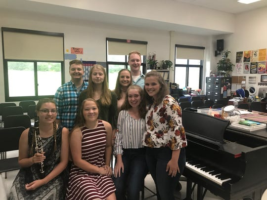 Six Owego Free Academy students were chosen perform with the New York State Schools Music Association (NYSSMA) All State Ensembles in Rochester from Dec. 1-2. Two students will also attend the festival to serve as alternates.