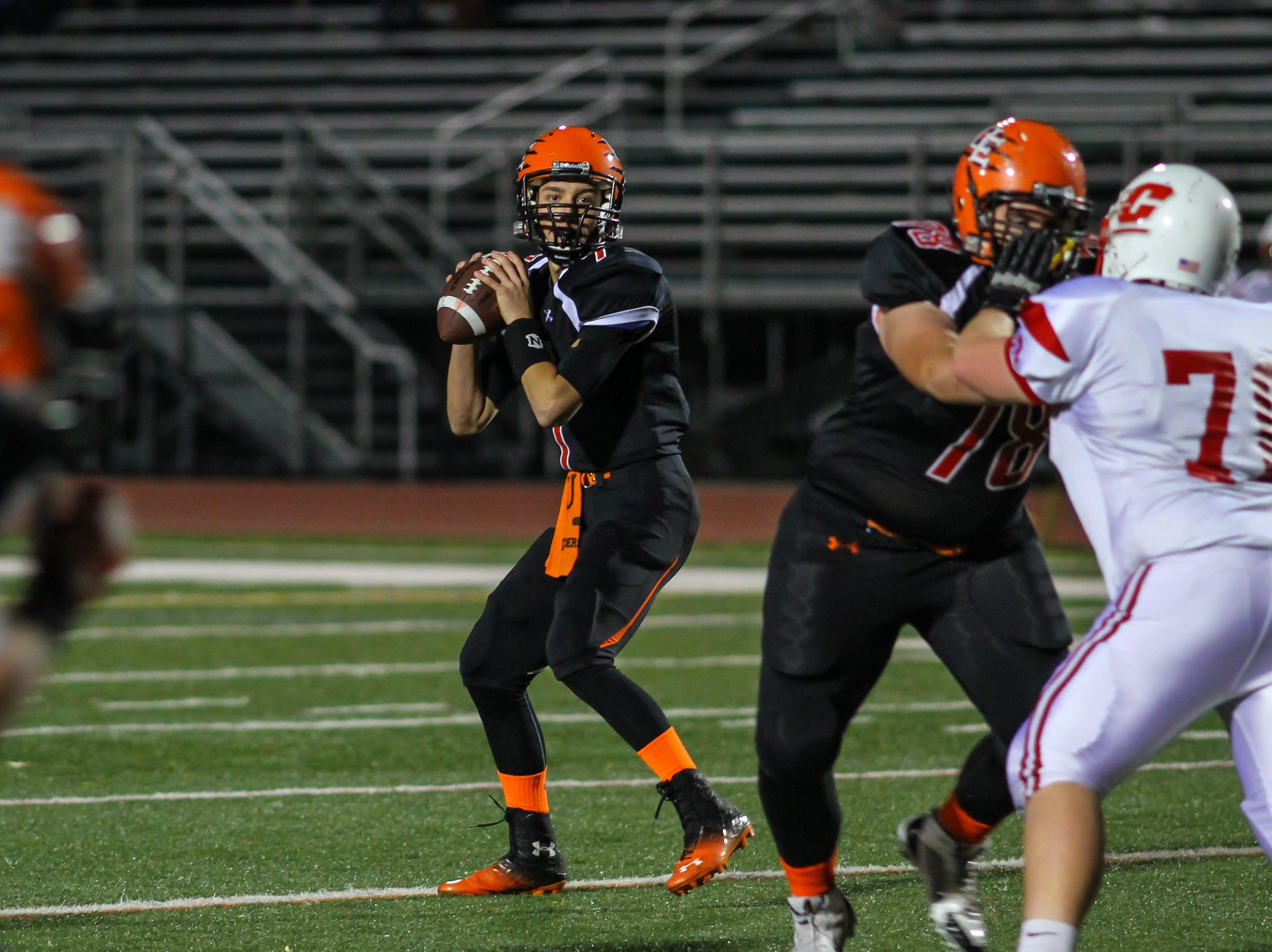 In 2013, Joey Orlando carried Union-Endicott with a 228-yard, five-touchdown performance against Carthage in the Tigers' 43-7 victory in the Class A state quarterfinals at Vestal's Dick Hoover Stadium.
