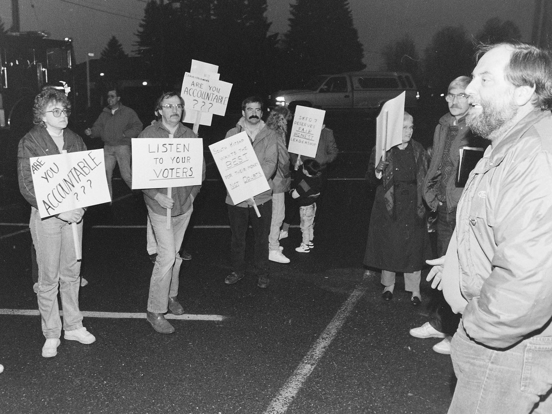 04/1991District 7 Protest