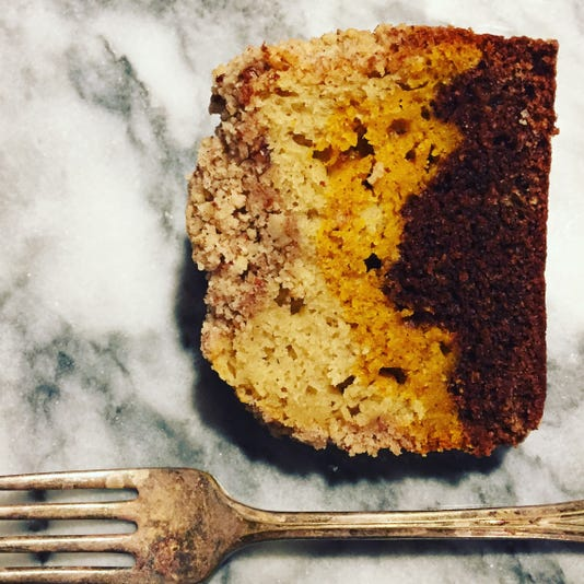 2 Pumpkin Coffee Cake