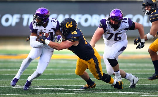 Kamari Pleasant and Washington's stable of running backs have ground out yards, but haven't generated big plays.