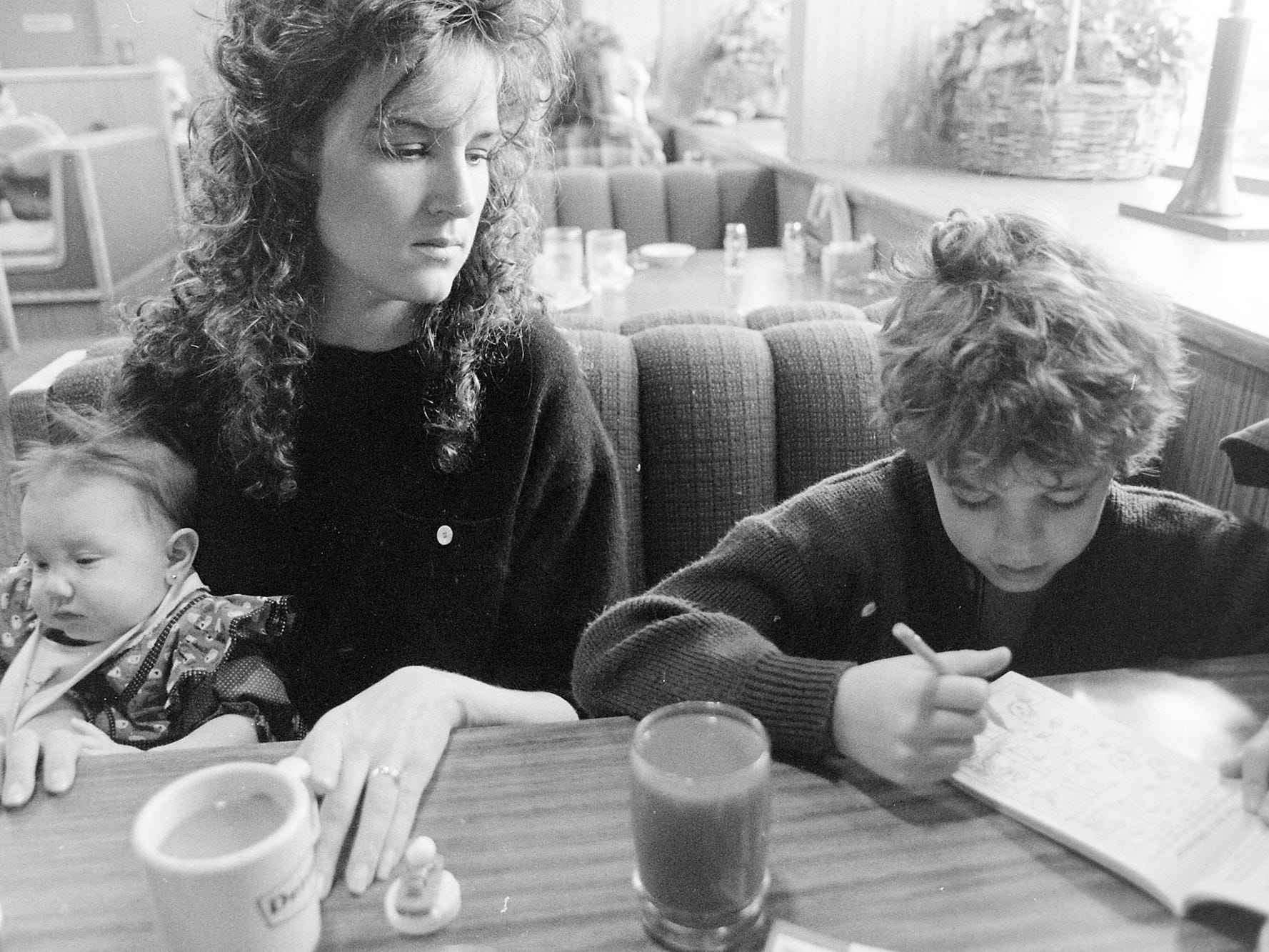 01/02/91Lunch At Dennys