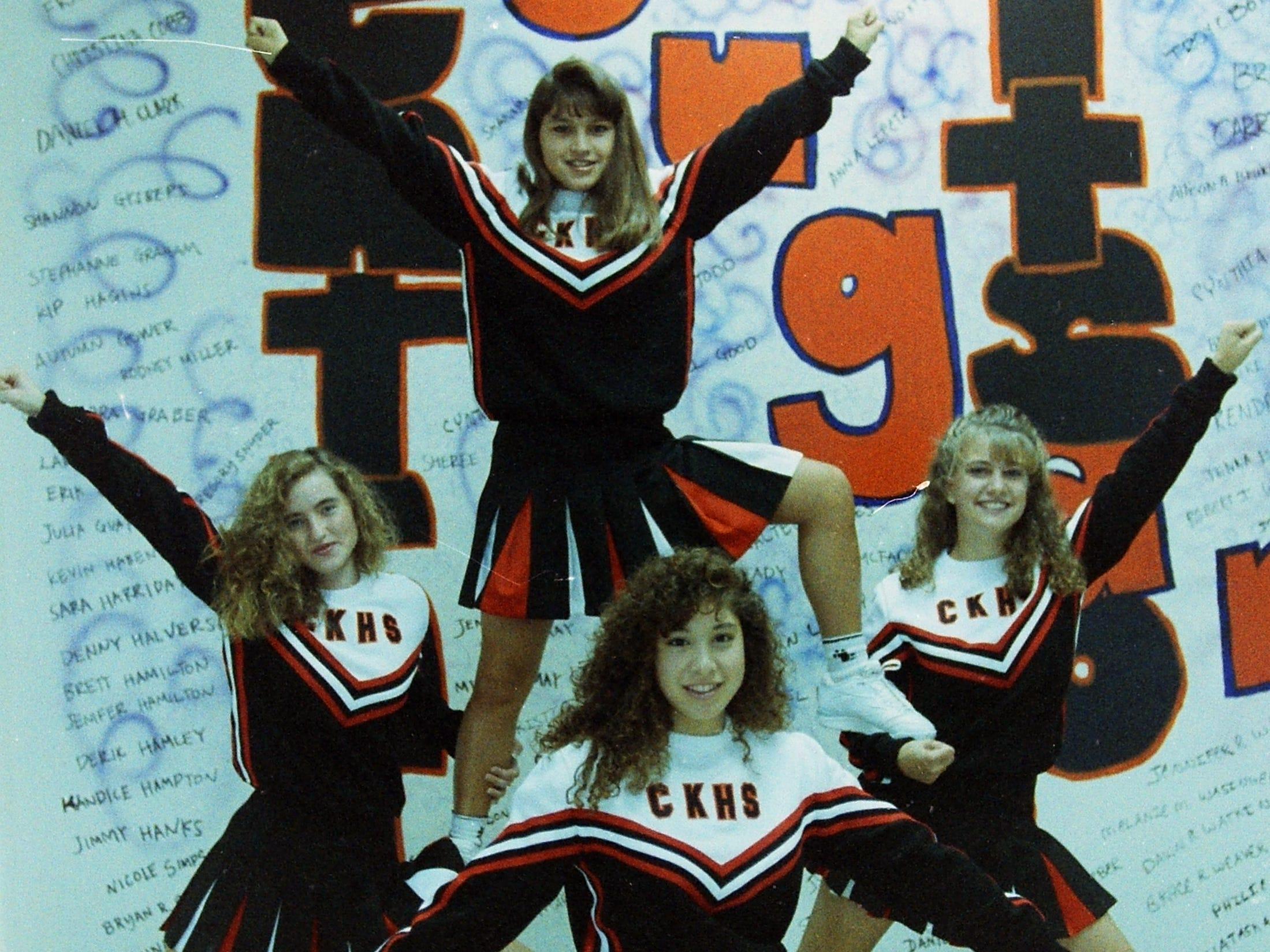 08/30/91Ck Cheerleaders