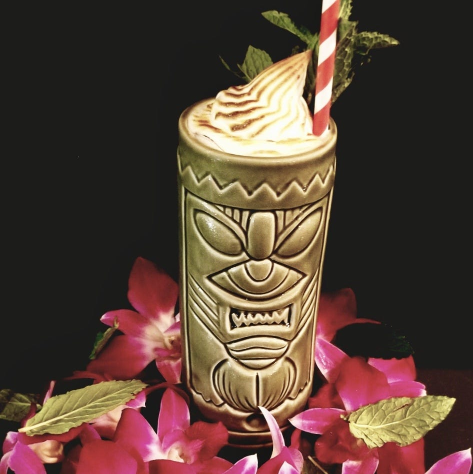 Bartender from Melbourne's Crush XI wins competition with Peanut Butter Banana Mai Tai