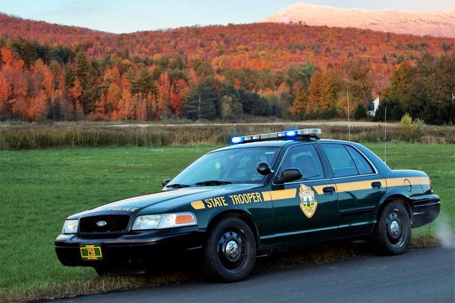 Vermont State Police say this cruiser is the final Ford Crown Victoria cruiser on the road in its fleet. It will be retired on Nov. 2, 2018.