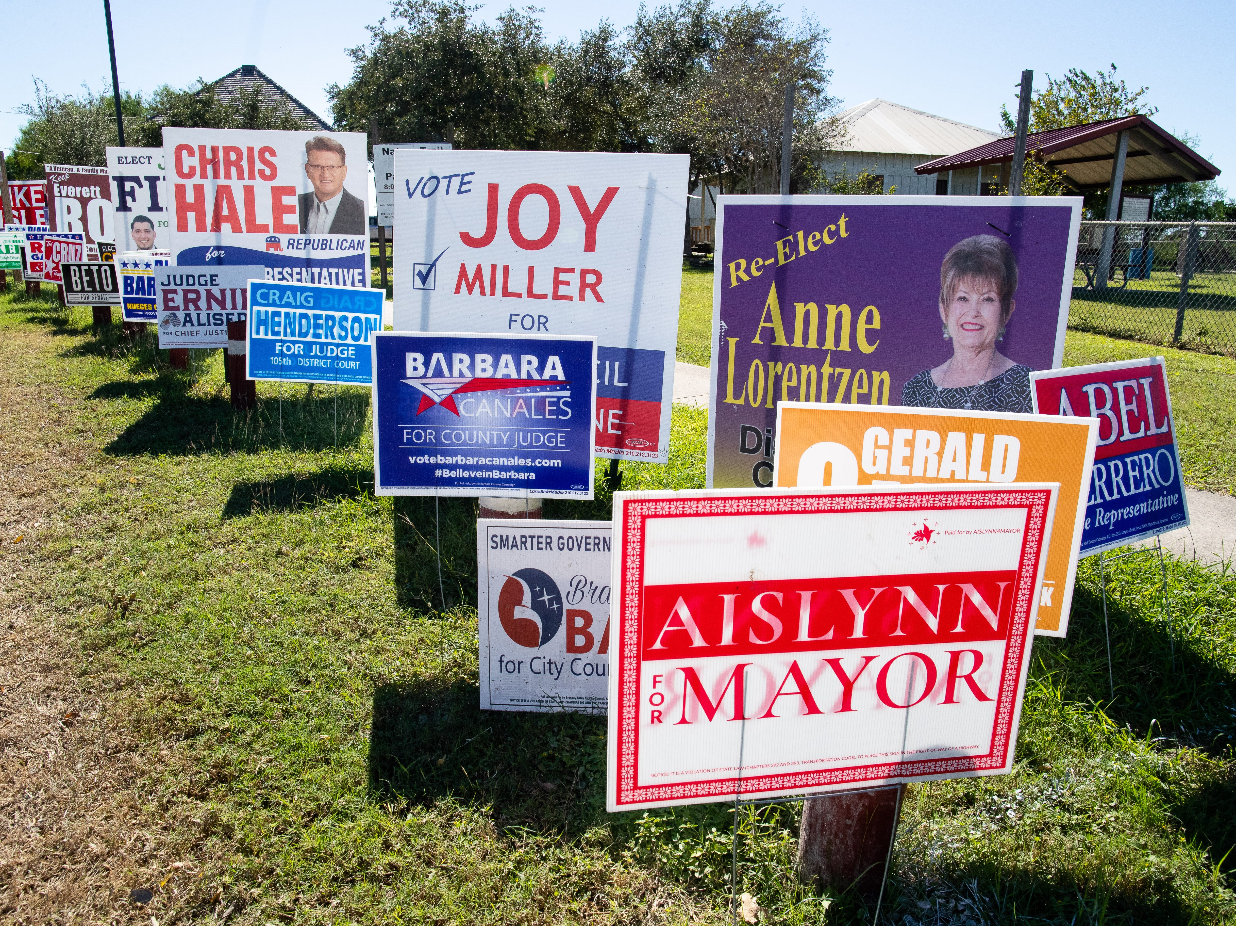 NICK JIMENEZ: Thinking about what political signs really signify